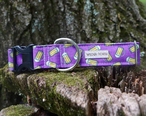 Purple Beer Collar