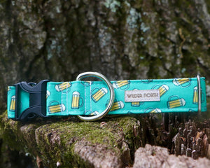 Teal Beer Collar