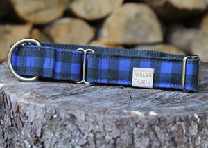 Blue Buffalo Plaid Collar