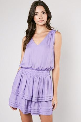 Feels Like Home Dress: Lavender - Bella and Bloom Boutique