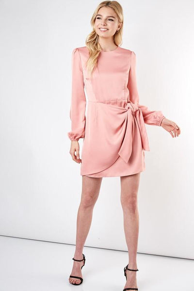 Sleek Chic Dress: Coral - Bella and Bloom Boutique