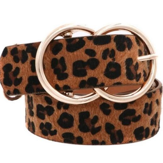 Closet Staple Belt: Leopard - Bella and Bloom Boutique