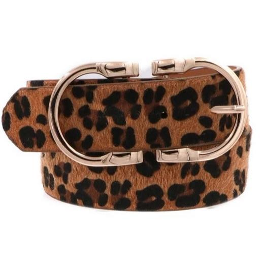 New York Chic Belt: Leopard - Bella and Bloom Boutique
