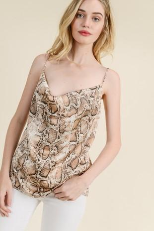 On the Prowl Cami: Python - Bella and Bloom Boutique