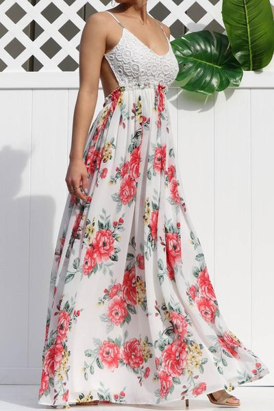 RESTOCK: Love Me Tender Maxi Dress: Floral - Bella and Bloom Boutique