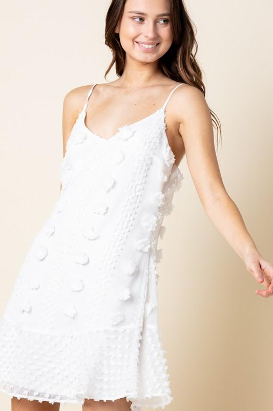 Alayah Dress: White - Bella and Bloom Boutique