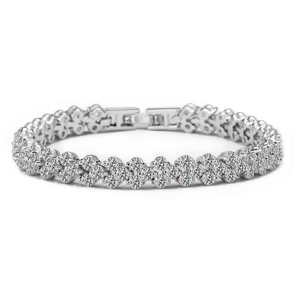RESTOCK: It's Always Been You Bracelet: Crystal/Silver - Bella and Bloom Boutique