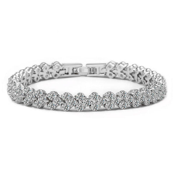 PRE-ORDER: It's Always Been You Bracelet: Crystal/Silver