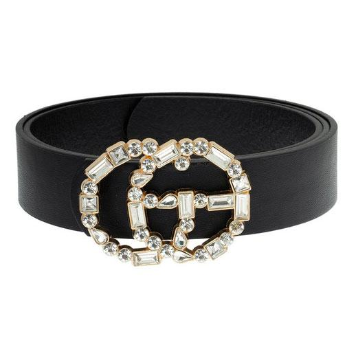 Glam Gal Belt: Black - Bella and Bloom Boutique