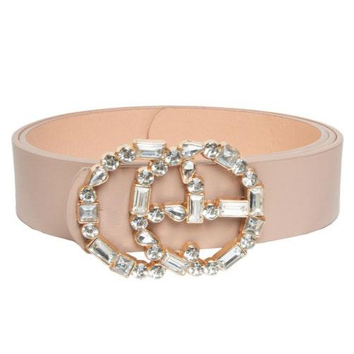 Glam Gal Belt: Taupe - Bella and Bloom Boutique