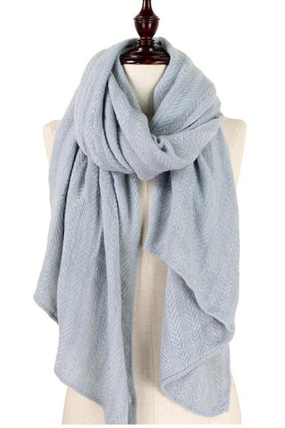 Every Day Scarf: Gray - Bella and Bloom Boutique