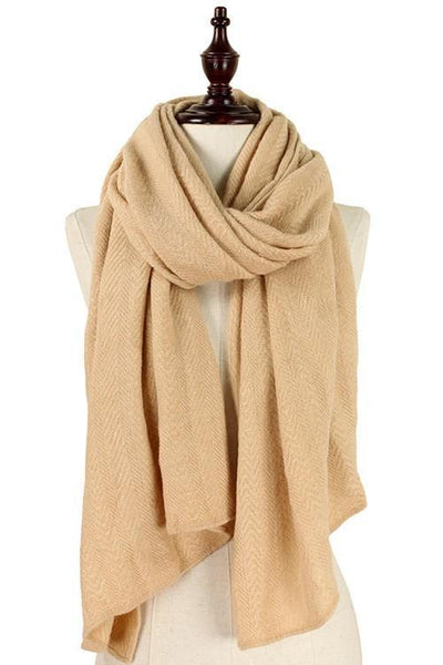 Every Day Scarf: Tan - Bella and Bloom Boutique