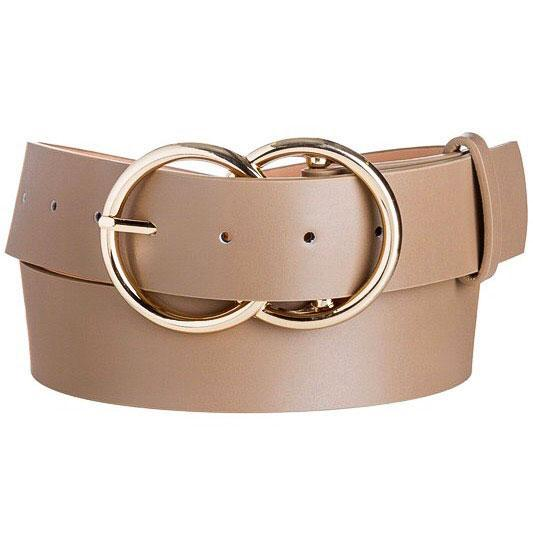RESTOCK: Closet Staple Belt: Taupe - Bella and Bloom Boutique