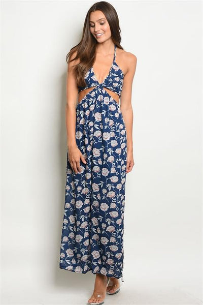 a90d0d8e22ab Lost in the Moment Maxi Dress  Navy - Bella and Bloom Boutique