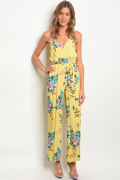 Villa Rosa Jumpsuit: Yellow