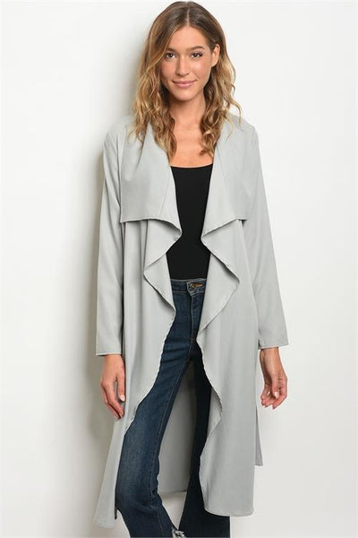 There's a Way Trench: Gray - Bella and Bloom Boutique