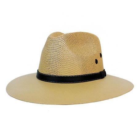 Take Me To Cabo Panama Hat: Natural - Bella and Bloom Boutique