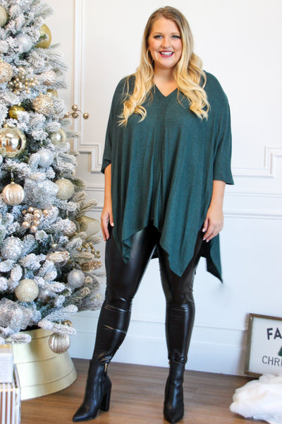 Faux Leather Leggings: Black - Bella and Bloom Boutique
