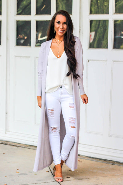 Sweet As You Duster: Lilac - Bella and Bloom Boutique