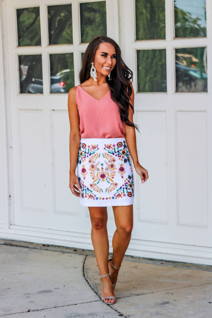 Summer Fun Skirt: Multi - Bella and Bloom Boutique