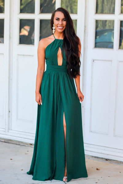 A Formal Affair Dress: Teal - Bella and Bloom Boutique