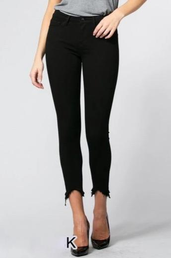 RESTOCK: Avery Denim: Black - Bella and Bloom Boutique