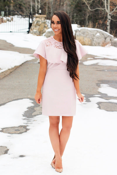 Napa Valley Dress: Blush - Bella and Bloom Boutique