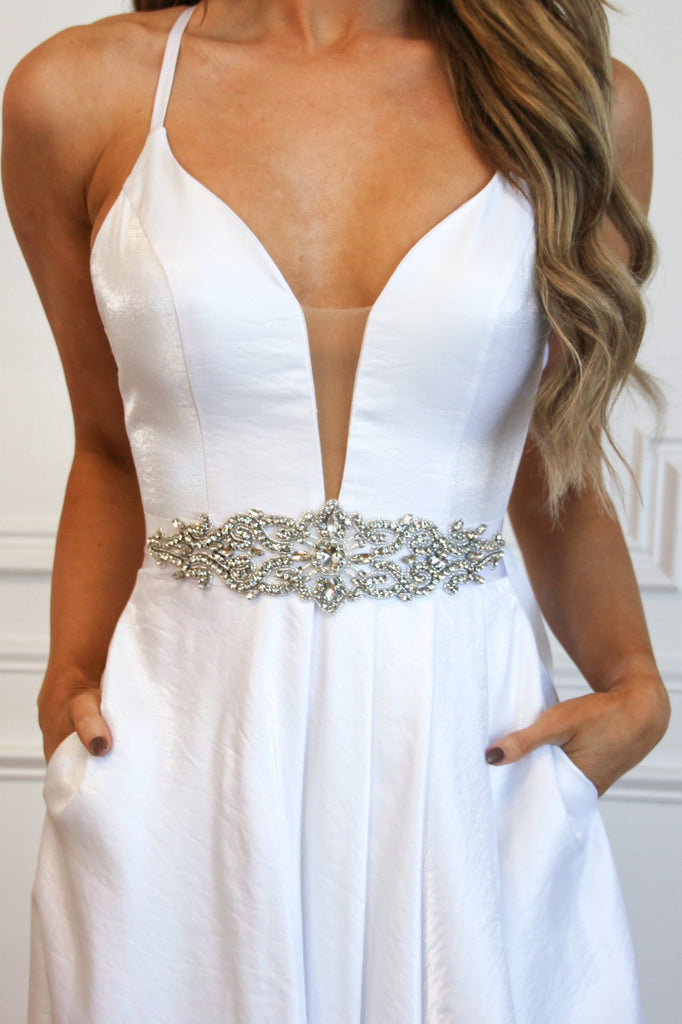 Bridal Belt Six - Bella and Bloom Boutique