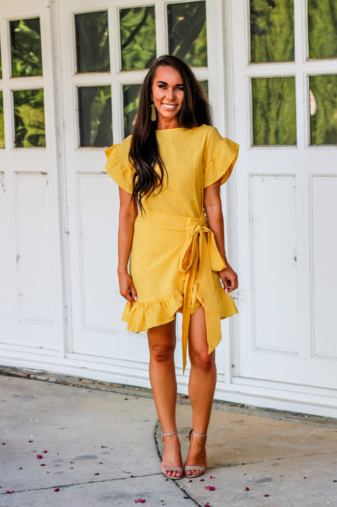 RESTOCK: Lovely Day Dress: Yellow
