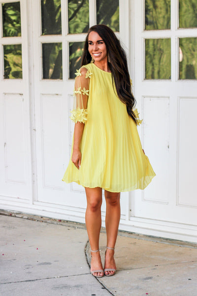 Love Out Loud Dress: Yellow