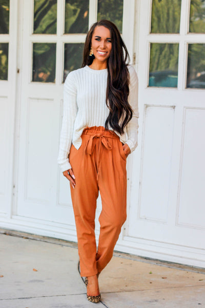 Fall into Style Pants: Pumpkin