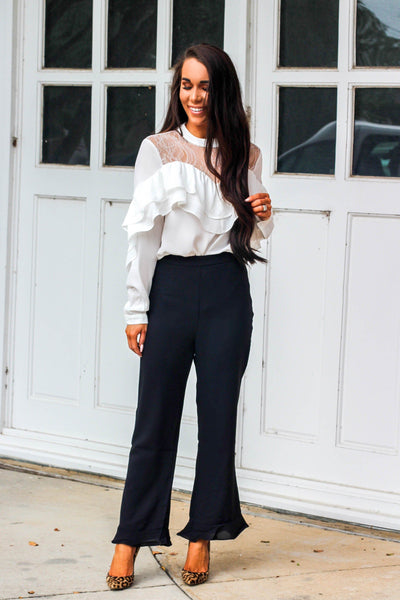 Work It Girl Pants: Black