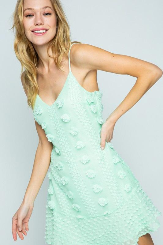 Alayah Dress: Mint - Bella and Bloom Boutique