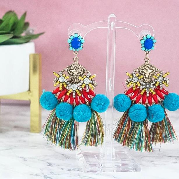Life's A Party Earrings: Multi