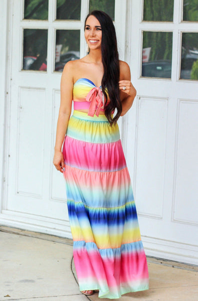 Tropical Dream Two Piece Set: Multi - Bella and Bloom Boutique
