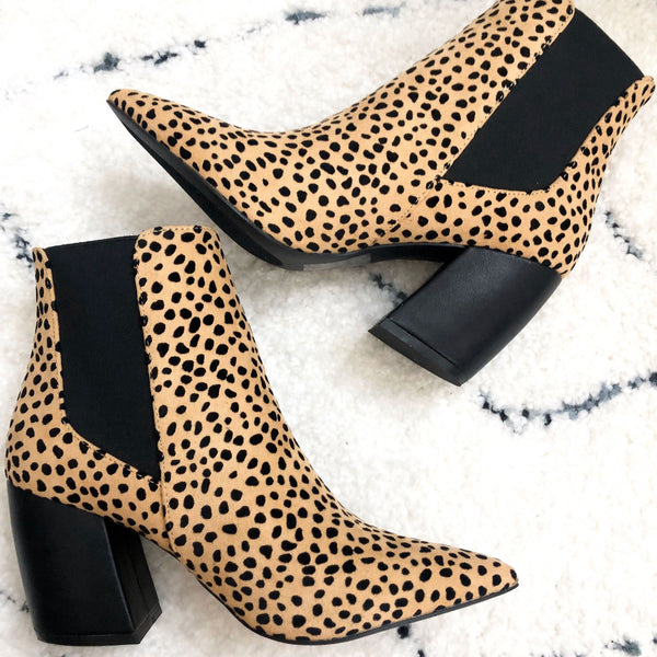 Charlie Booties: Cheetah - Bella and Bloom Boutique