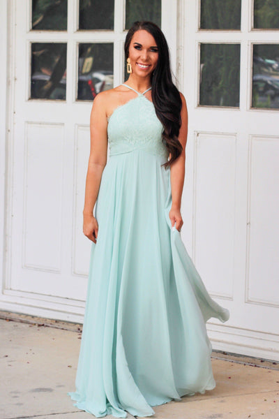 Dream Catcher Maxi Dress: Sage - Bella and Bloom Boutique