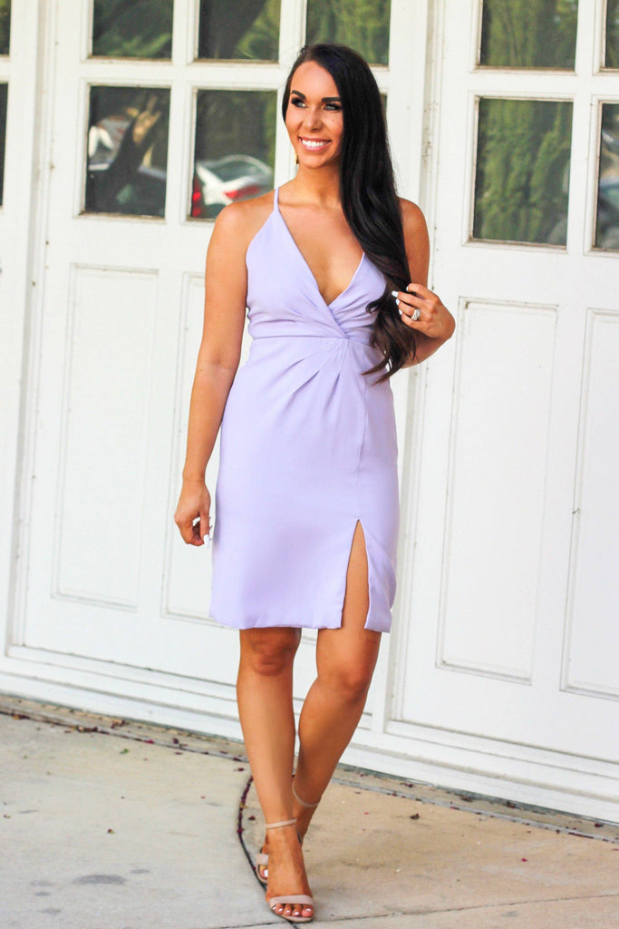 A Perfect Night Dress: Lavender - Bella and Bloom Boutique