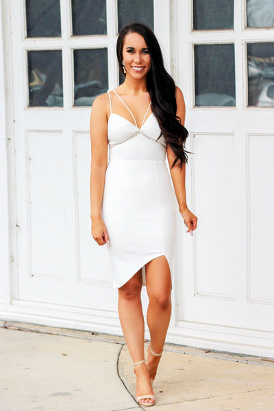 Best Day Ever Dress: White - Bella and Bloom Boutique