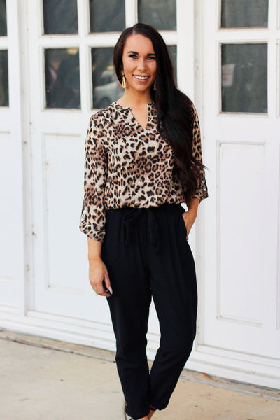 RESTOCK: Wild Side Top: Leopard - Bella and Bloom Boutique