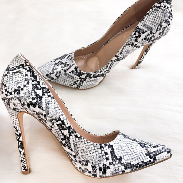 Wimberly Heels: Python - Bella and Bloom Boutique