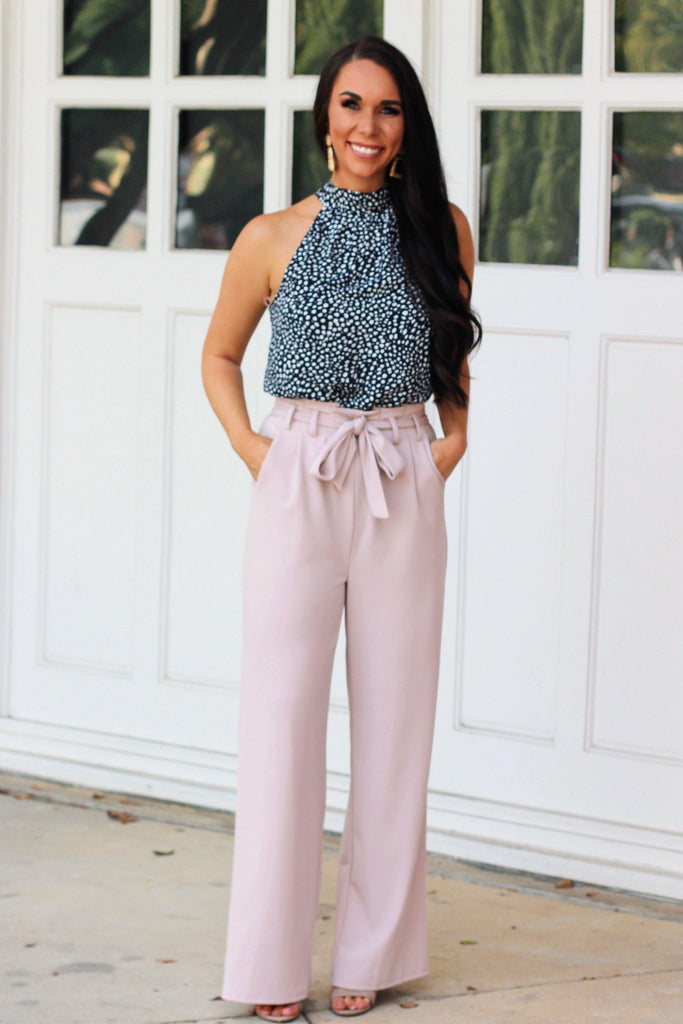 Office Cutie Pants: Blush - Bella and Bloom Boutique