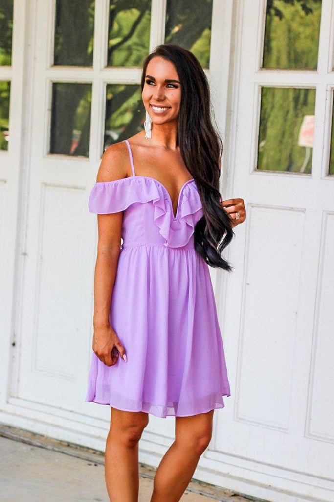 RESTOCK: Pastel Love Dress: Lavender