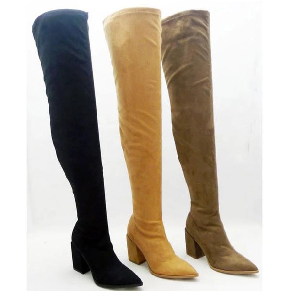 Adalia Over the Knee Boots - Bella and Bloom Boutique