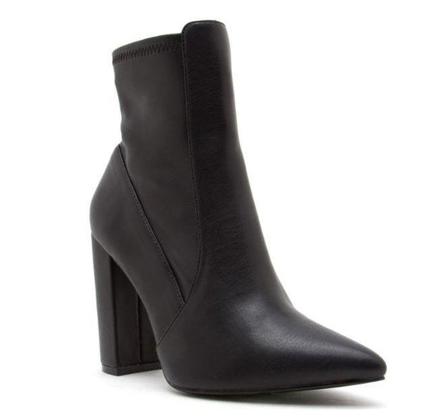 Caydence Booties: Black - Bella and Bloom Boutique