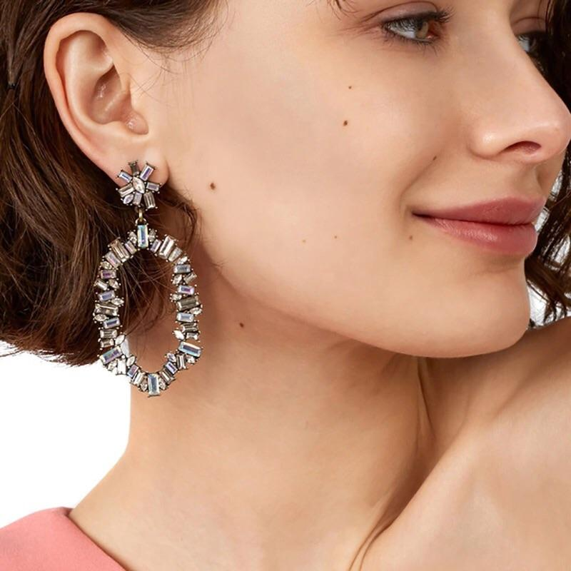 Formal Affair Earrings: Silver - Bella and Bloom Boutique