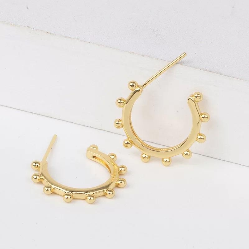 RESTOCK: Something Extra Huggie Hoop Earrings: Gold - Bella and Bloom Boutique