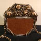 Unique Vintage One Of  The Kind Handmade Purse