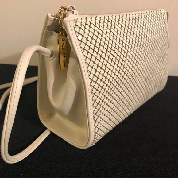 Vintage Whiting & David Off  Mesh Evening Purse