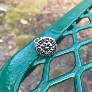 Vintage Style Boho Rhinestone Adjustable Ring